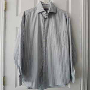 Johnston & Murphy Easy Care Button Up Shirt